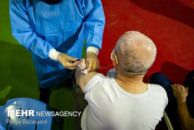 Vaccination of elderly citizens underway in Rasht