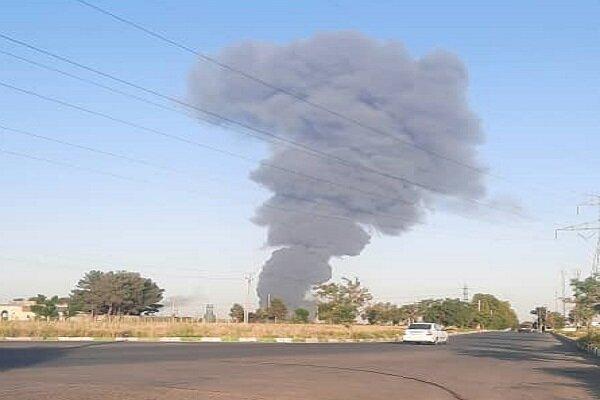 آتشسوزی در کارخانه مواد غذایی در اتوبان کرج - قزوین با ۲۴ مصدوم