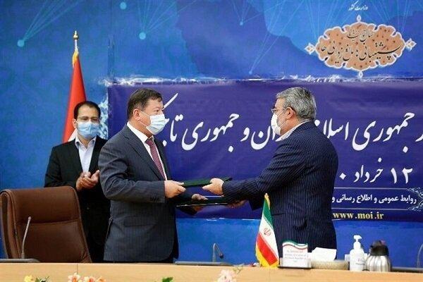 ايران وطاجيكستان توقعان على  مذكرة تفاهم للتعاون بين البلدين