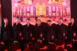 اجتماع ابناء الحسن در حسینیه شهدای دوکوهه
