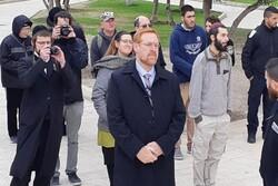 یورش یهودیان افراطی به مسجد الاقصی