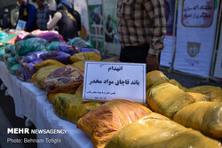 Police bust over 2,500 kg of narcotics in S Iran