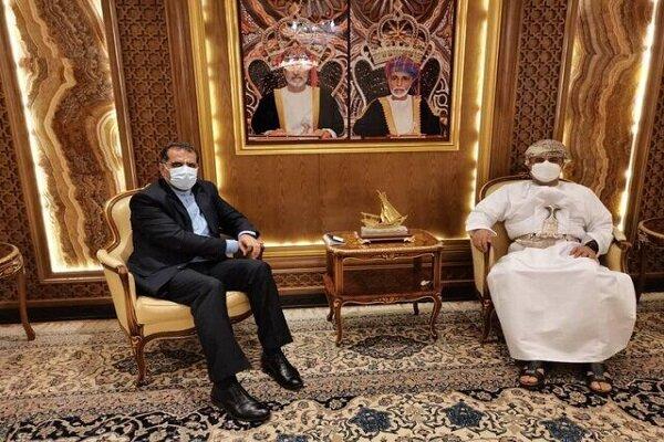 Iran, Oman discuss development of ties on transit corridors