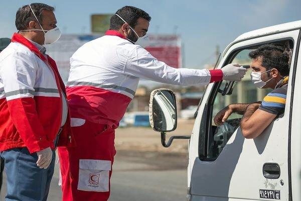 تداوم طرح کنترل بهداشتی مسافران در مرزها با کمک ۴۷۱ نیروی امدادی