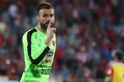 احتمال انتقال دروازهبان پرسپولیس به تیم هایدوک کرواسی