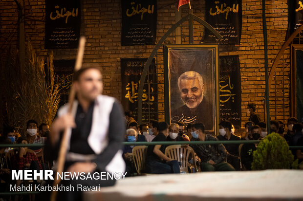 هشتمین سوگواره کشوری تعزیه دهزیار کرمان
