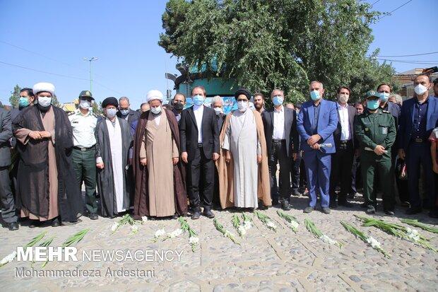گلباران قتلگاه شهدای 15خرداد قرچک