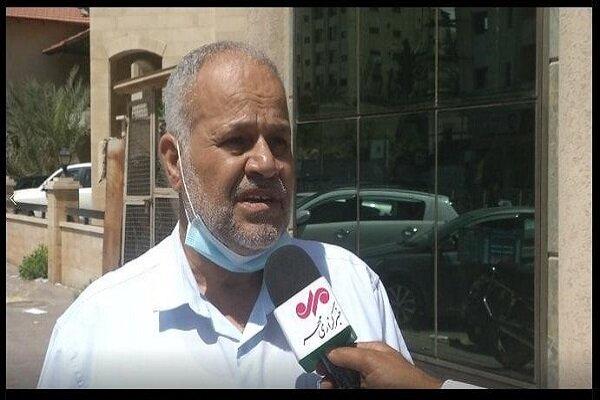 تقریر مراسل مهر من غزه  عشیة ذكرى وفاة الامام الخميني (ره)