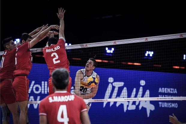 Iran defeats Italy 3-1: 2021 VNL