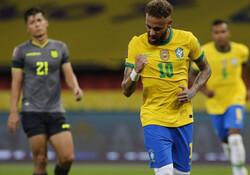 برزیل با دو گل اکوادور را شکست داد
