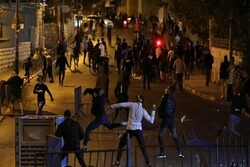 300 Palestinians wounded in clash with Zionists in West Bank