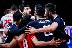 İran-Bulgaristan voleybol maçından kareler