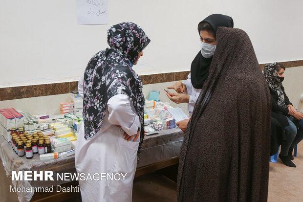 ویزیت رایگان تخصصی گروه جهادی شهید همدانی در اردبیل