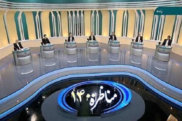 İran'da cumhurbaşkanı adayları canlı yayında karşı karşıya geldi