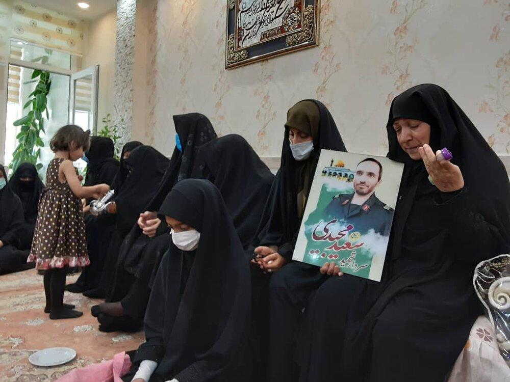 لحظات اعلام خبر شهادت مدافع حرم سعید مجیدی به خانواده شهید
