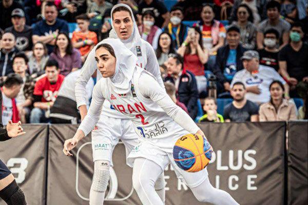 تیم بسکتبال سه نفره بانوان از کسب سهمیه المپیک بازماندند