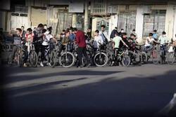 همایش دوچرخه سواری به مناسبت حماسه نیمه خرداد