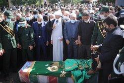 Holy shrine defender funeral