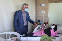 وضعیت بیمارستان محب کوثر بعد از حادثه آتش سوزی