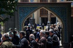 İran'da Hz. İmam Cafer Sadık (a.s) için matem merasimi