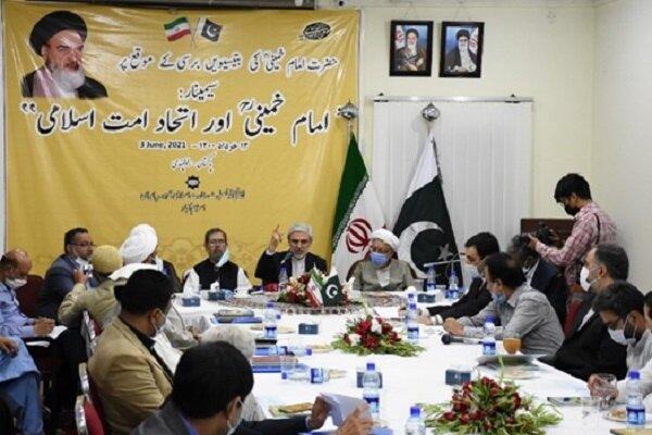 مراسم سی و دومین سالگرد ارتحال امام (ره) در پاکستان برگزار شد