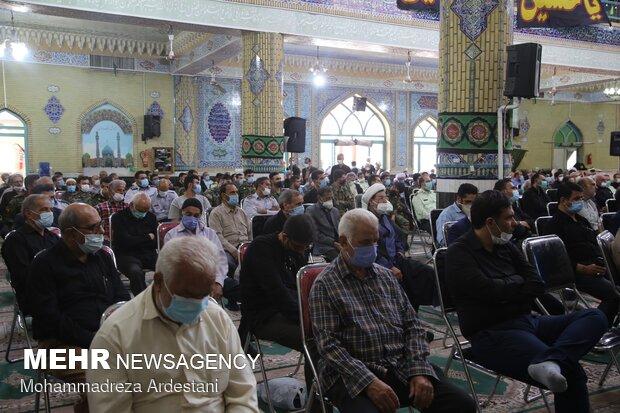 برگزاری یادواره شهدای روحانی و طلبه در ورامین