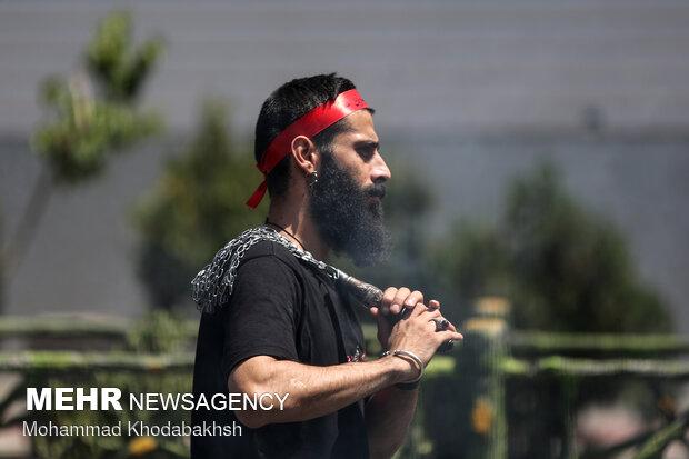 مراسم عزاداری روز شهادت امام جعفر صادق علیه السلام