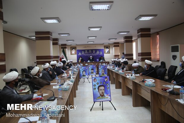 همایش  روحانیون ومبلغین شهرستان ورامین