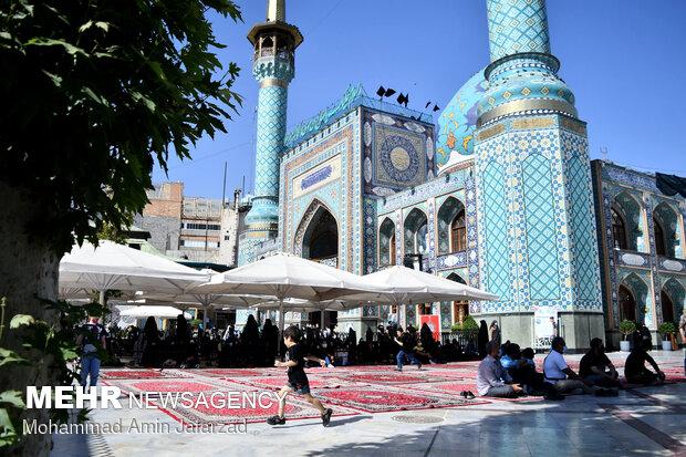 اجتماع عزاداران شهادت امام صادق علیه السلام در امامزاده صالح (ع)