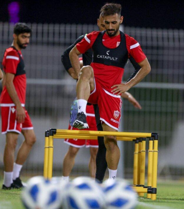 احتمال ایجاد یک تغییر در ترکیب تیم ملی بحرین مقابل ایران