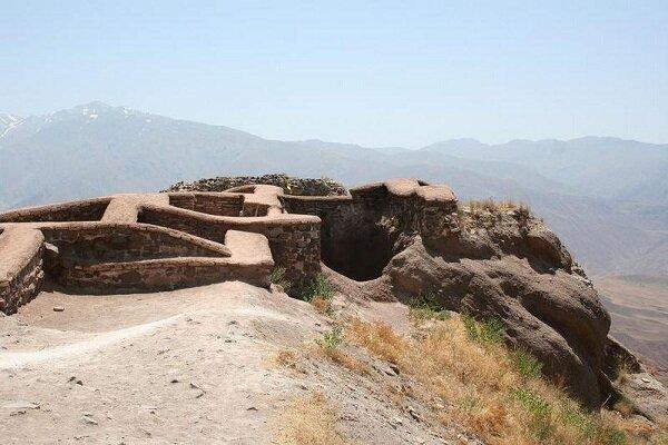 Kazvin'de tarihi bir kale: Alamut Kalesi