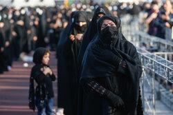 عزاداری شهادت امام صادق علیه السلام در میدان امام حسین (ع)
