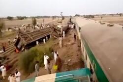 Train collision in S Pakistan kills at least 30 (+VIDEO)