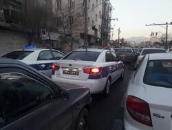 ترافیک سنگین صبحگاهی در بزرگراههای پایتخت