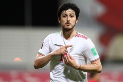 Azmoun among nominees for Asian Qualifiers Player of Month