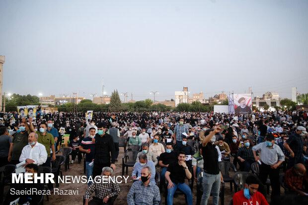 Raeisi in election rallies in Eslamshahr