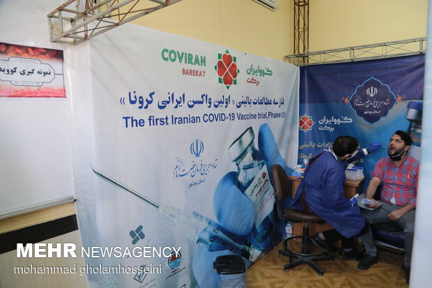 3rd clinical trial of Iran-made Covid-19 vaccine in Bushehr