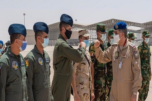 Saudi Arabia holding joint air drill with some Arab states