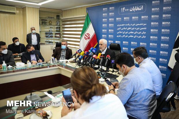 Cumhurbaşkanı adayı Muhsin Mihralizade'nin basın toplanıtsından fotoğraflar