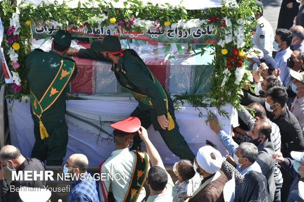 تشییع پیکر شهید مجیدی