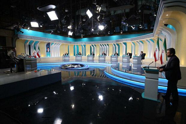 پخش زنده سومین مناظره انتخاباتی از رادیو ایران