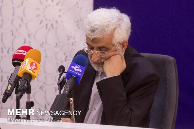 نشست کارگروه های دولت سایه با حضور سعید جلیلی