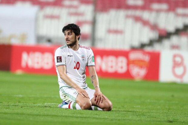 سردار آزمون در نظرسنجی بهترین بازیکن انتخابی جام جهانی