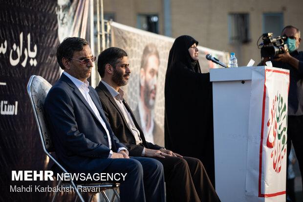 سخنرانی سعید محمد در همایش حامیان آیت الله رئیسی در کرمان