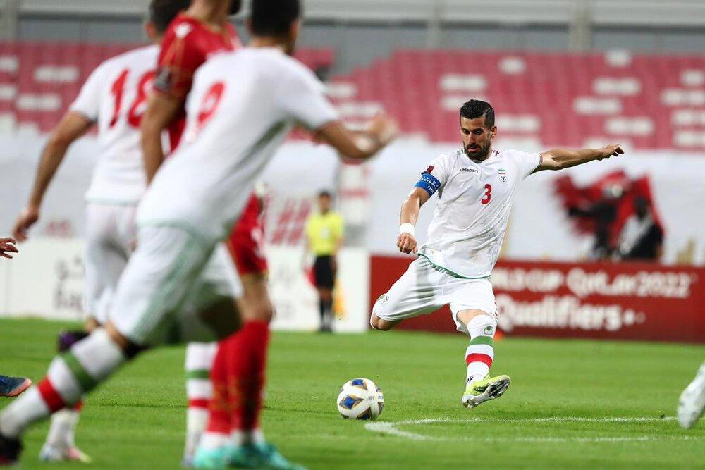 چند تغییر در ترکیب تیم ملی فوتبال ایران برابر کامبوج