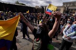 در اعتراضات کلمبیا ۵۸ نفر کشته شدند