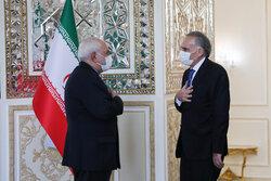 ایرانی وزیر خارجہ سے اقوام متحدہ کے سکریٹری جنرل کے نمائندوں کی ملاقات
