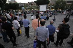 ایرانی عوام نے صدارتی انتخابات کے امیدواروں کے  دوسرے ٹی وی مناظرے کو غور سے مشاہدہ کیا