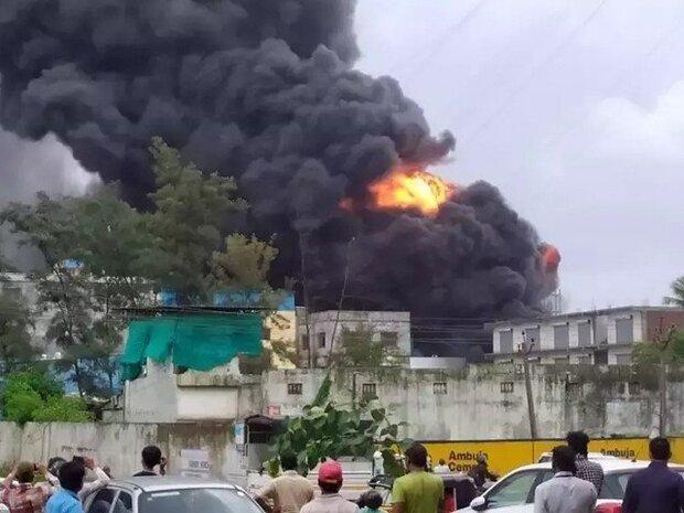 بھارت میں کیمیکل پلانٹ میں آگ لگنے سے 18 افراد ہلاک