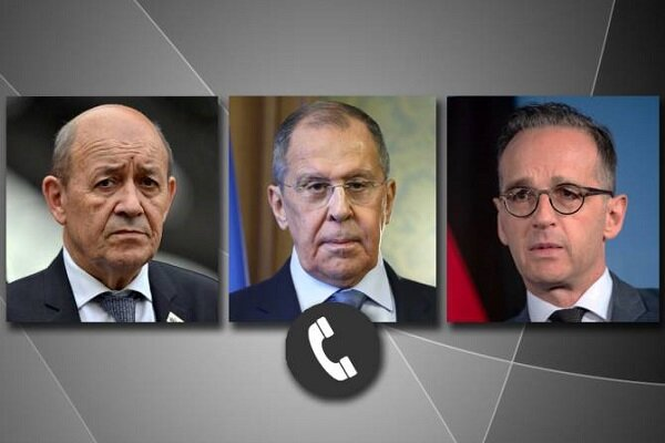 Russian, French and German FMs confer on Karabakh